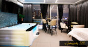 Luxurious Rooms with Sound proof Windows & Doors