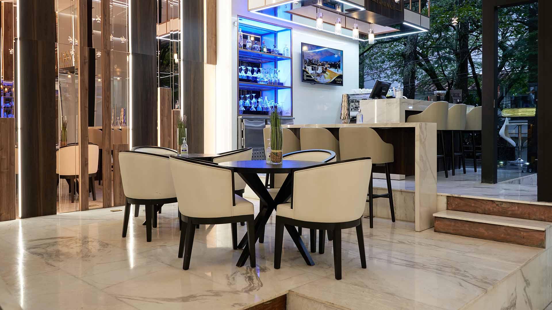 Restaurant in Medellin with Mini Bar